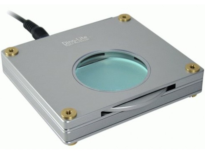 Dino lite ljusbord med polarisator bl zw usb mikroskop och